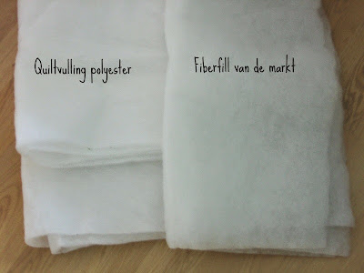 polyester tussenvulling voor quilt