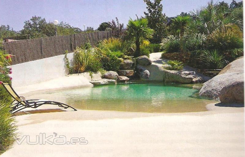 Con decoro piscinas de arena for Jardin japones piscina