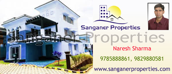 Independent House near Iskcon Temple Road in Sanganer