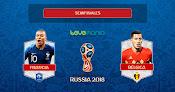 Francia va a la final del mundial tras derrotar 1 a 0 a Bélgica