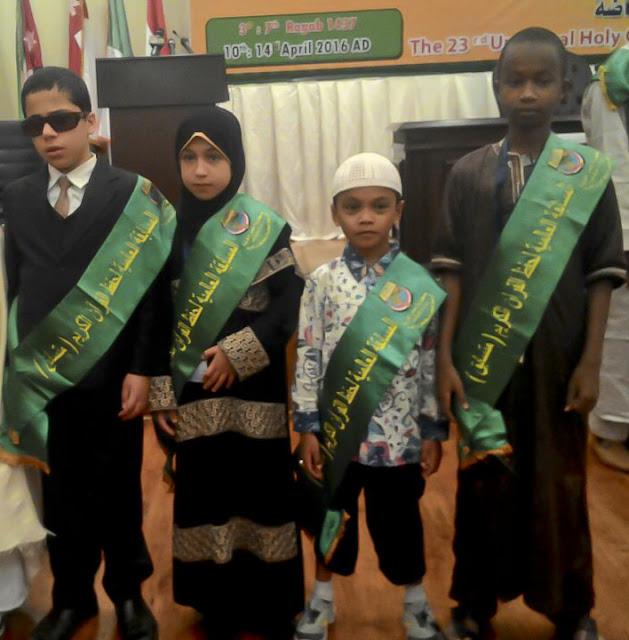 SUBHANALLAH.. Musa, Hafiz Cilik Indonesia Juara 3 Hafalan Quran di Mesir