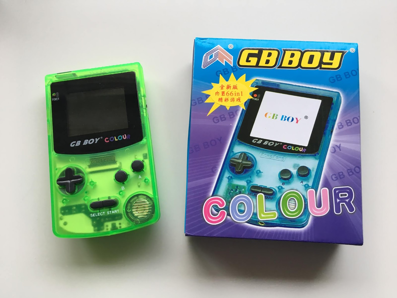 GB Boy Colour - Chinese Gameboy Color Clone