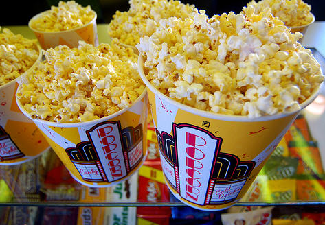 American cinema popcorn