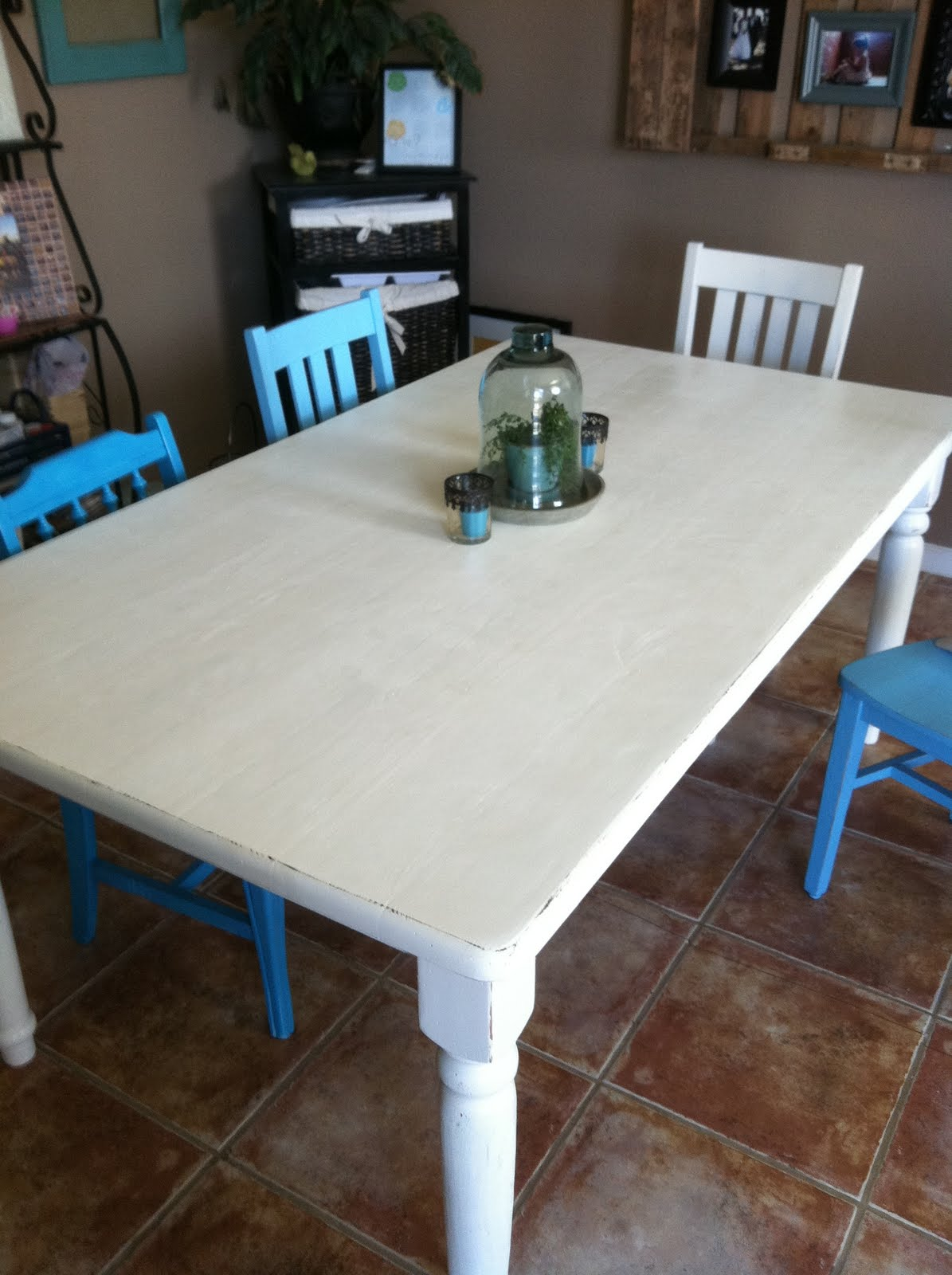 The Baeza Blog: Distressed Dining Table