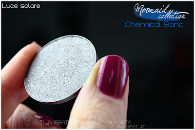 CHEMICAL BOND -  Eyeshedow ombretti Swatches, Comparazione  - MERMAID COLLECTION - NABLA COSMETICS