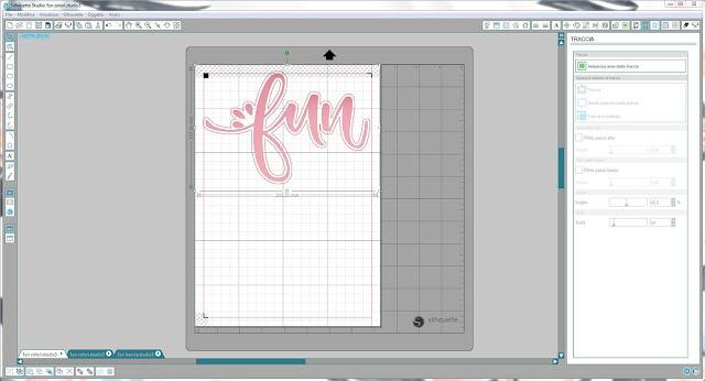 Come utilizzare singoli file .png nella modalità Print & Cut | Silhouette Cameo step14