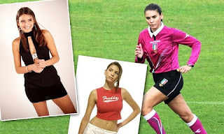 Wasit Wanita Terseksi dalam Sepakbola, Wasit Sepakbola Seksi, Kumpulan Wasit Wanita, Kumpulan Foto Wasit Wanita Terseksi, Wasit-wasit Sepakbola Wanita Seksi