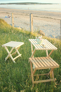 Pallet wood picnic table and seats project