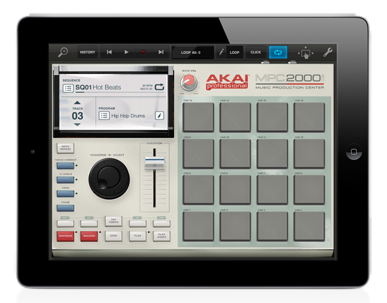 MATRIXSYNTH: Akai MPC App Coming to Retronyms Table Top