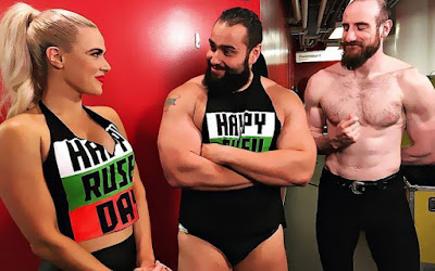WWE Hell in a Cell Lana Aidan English Rusev New Day Tag Team