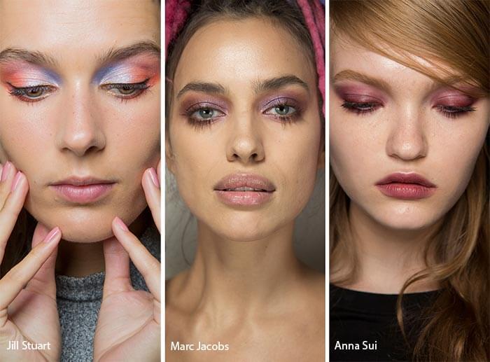 Модные тенденции в макияже весна-лето 2017