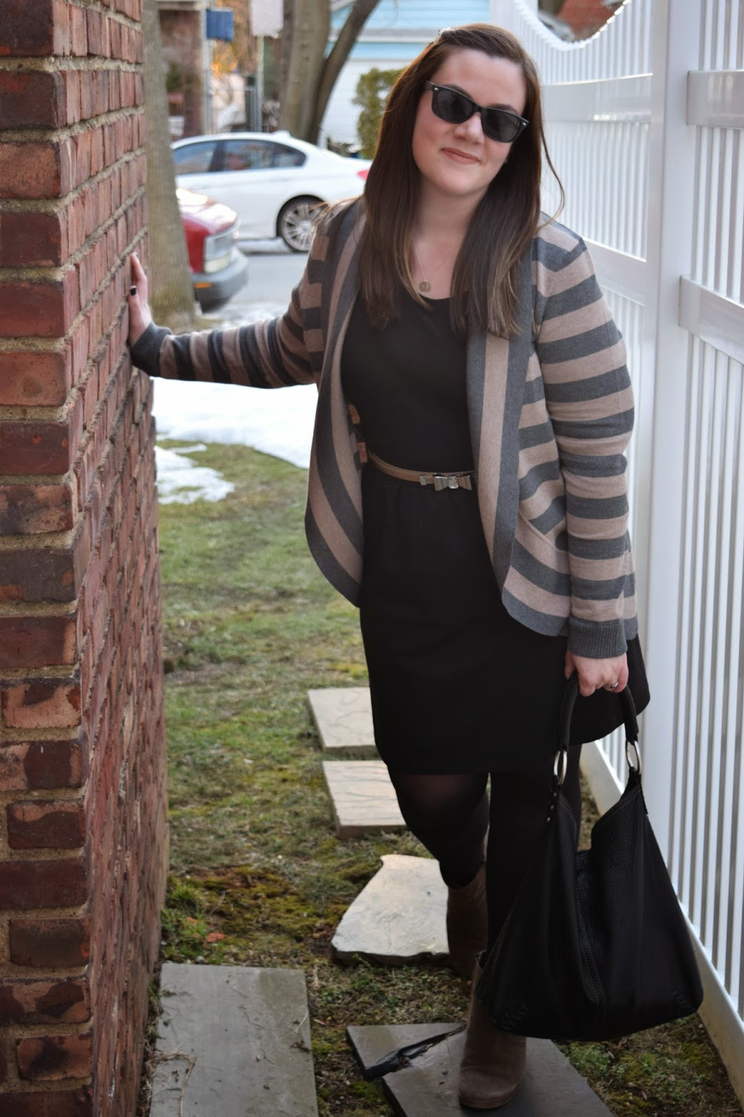 Sequins and Skulls: Neutral Stripes