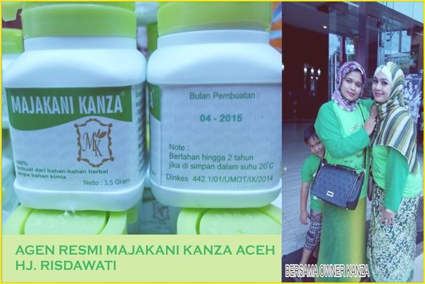 Gambar Profil Hj. Risdawati dan Owner Produk Kanza