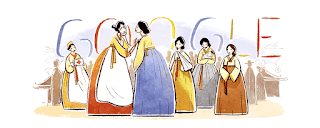 by Google Doodle