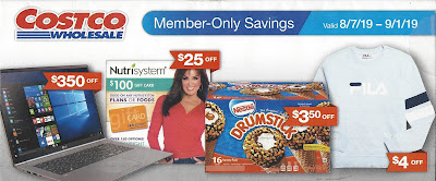 August 2019 Costco Coupon Book