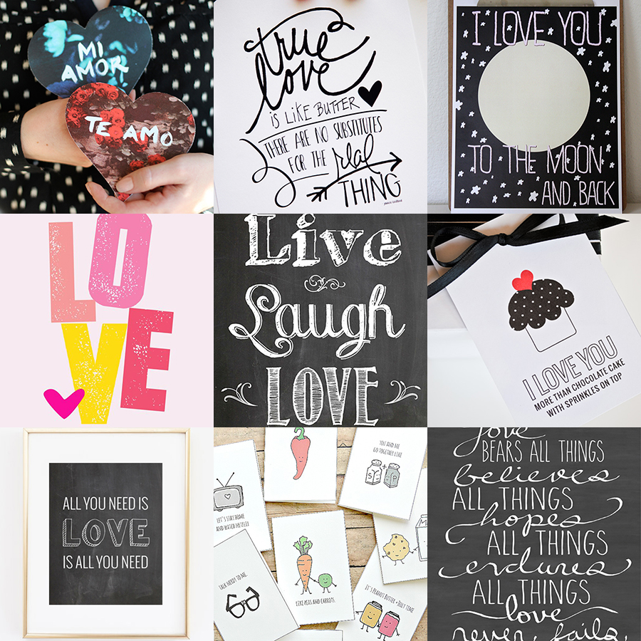 50+ Freebies for Valentine's day