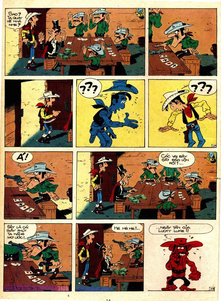 Lucky Luke tap 1 - ban tay nham trang 9