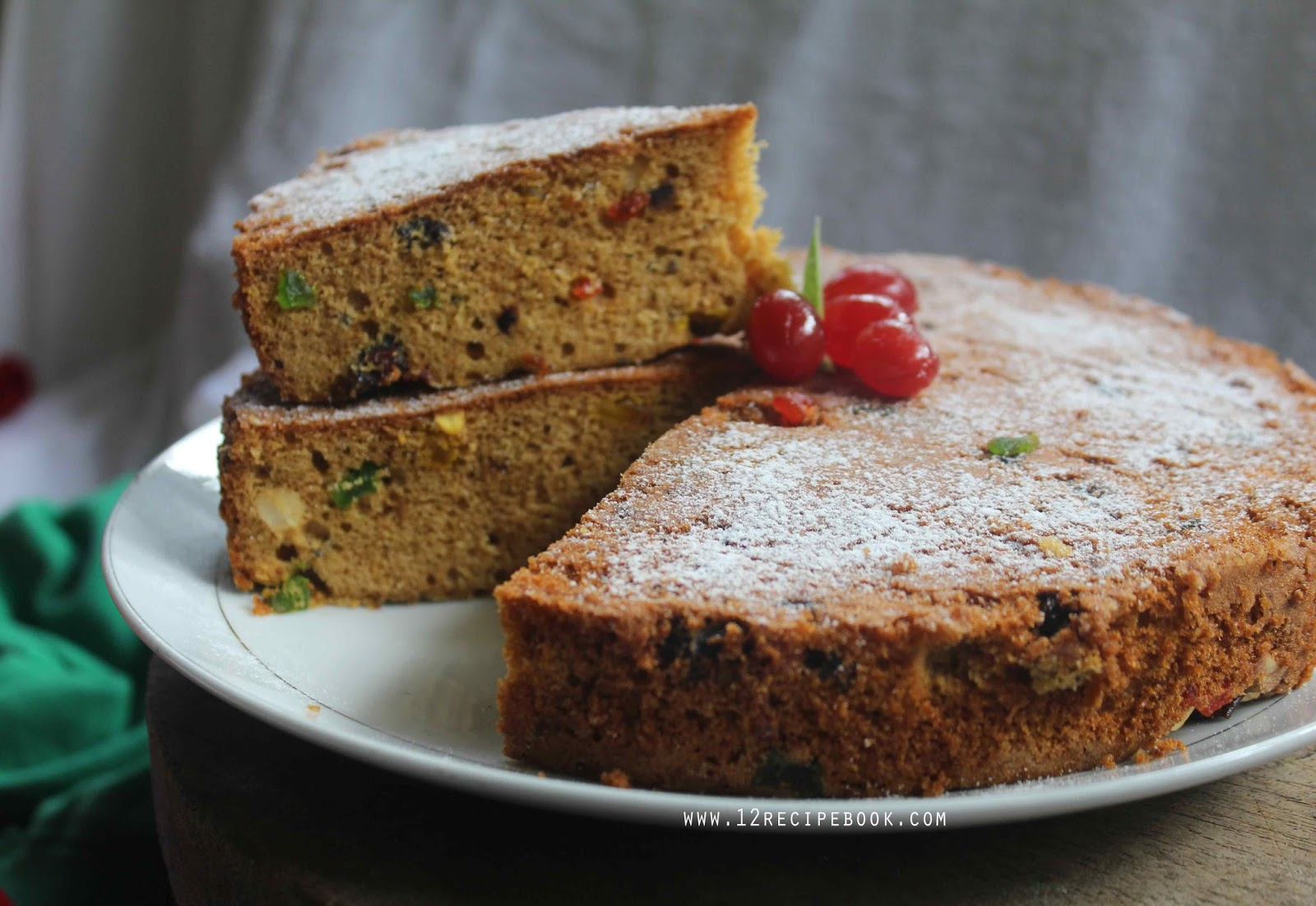 Butterscotch Cake Recipe In Pressure Cooker: Fruit Cake On Pressure Cooker