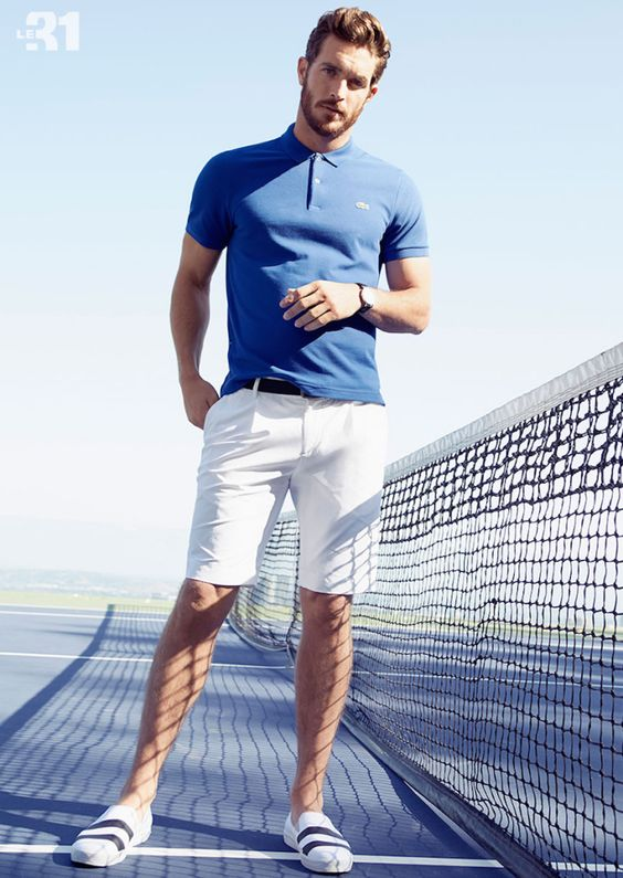 Look Masculino com Camisa Polo