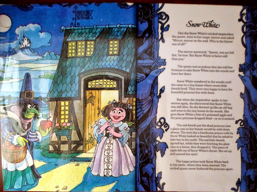Fairytales and nursery rhymes: Snow White and the seven dwarfs