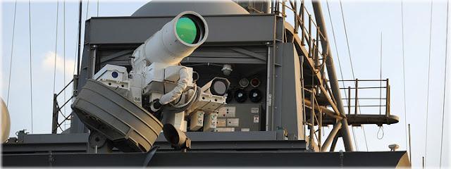 1ª arma laser é colocada em uso