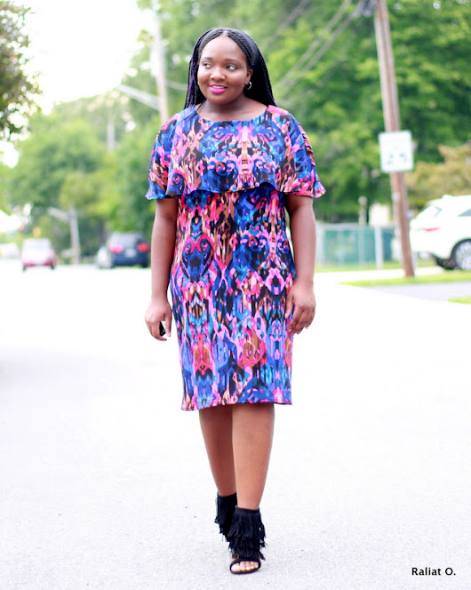 My DIY: Printed Caplet Dress + Butterick 6479 Pattern Review