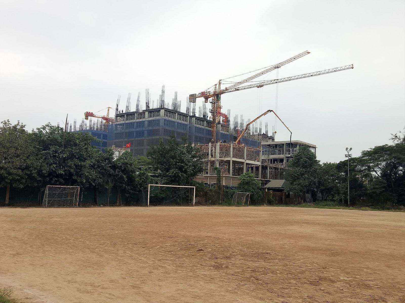 Tiến độ xây dựng Chung cư 789 Xuân Đỉnh | Ngày 30/11/2016