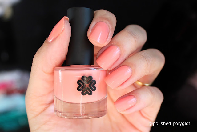 Lily Lolo Nail polish in Soft Coral