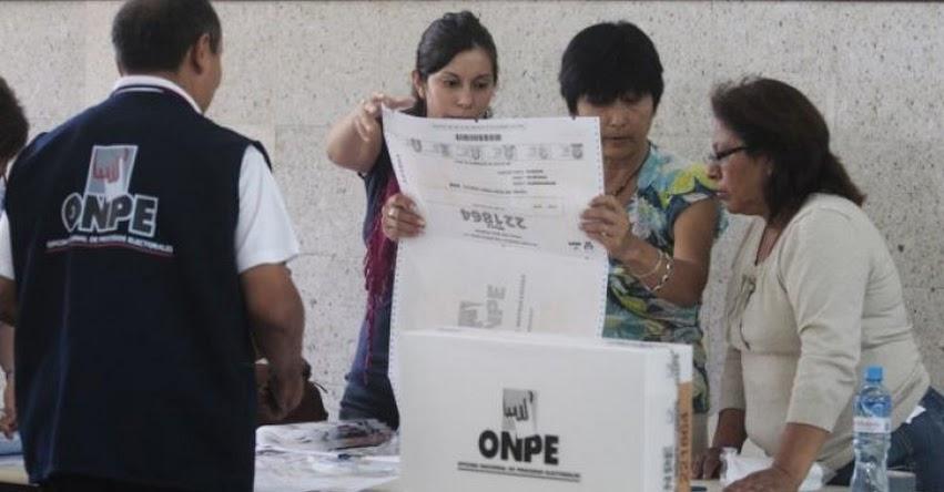 ONPE convoca a miembros de mesa para jornada de capacitación masiva - www.onpe.gob.pe