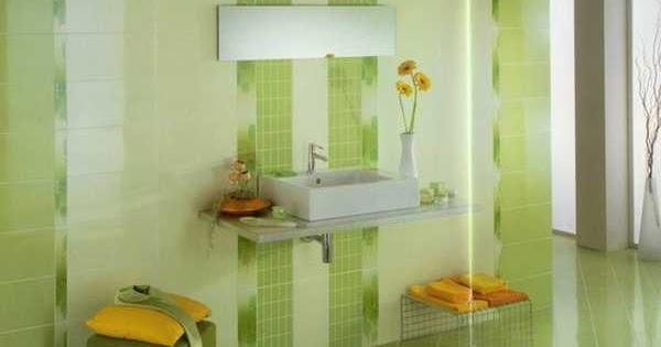 Info Baru 53+ Desain Keramik Kamar Mandi Warna Hijau