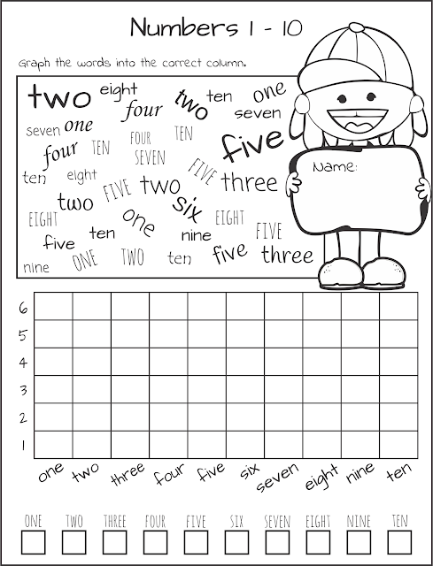 Graph the Word Worksheet