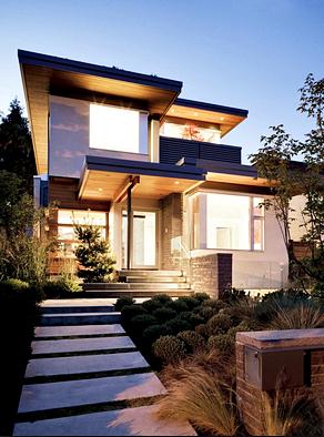 Gambar Rumah Minimalis Modern Plus Taman