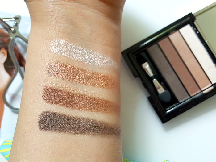 Swatches: PUPA Milano VAMP! Eyeshadow Palette - 23.50 Euro Smoky Brown