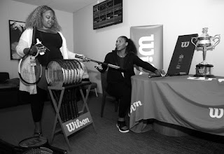 Photos: Serena Williams Celebrates With Special 23 Grand Slam Tennis Racket by Wilson