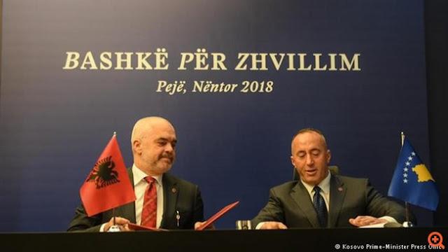 Στις αγκάλες της Αλβανίας το Κόσοβο;