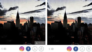 How to Remove the Prisma logo watermark from Photos