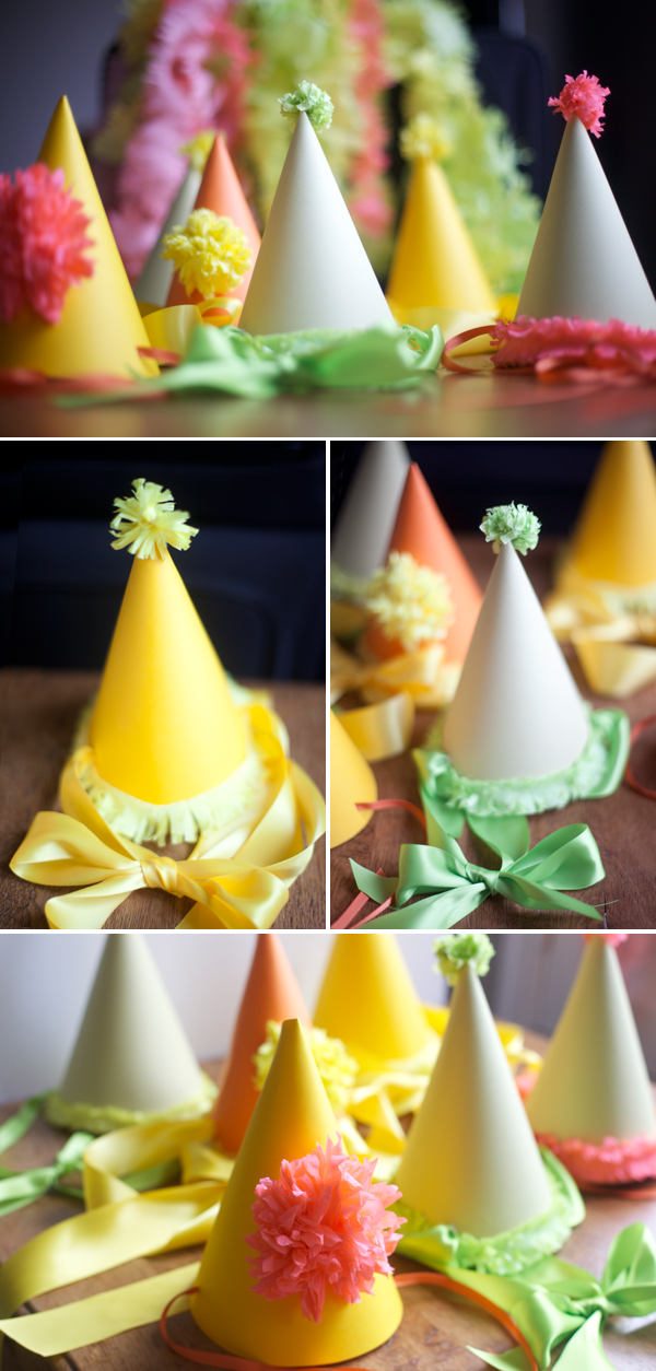 party hats diy template