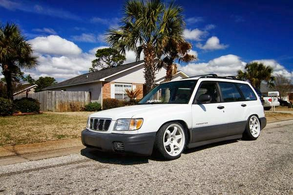 slammed 2001 subaru forester auto restorationice auto restorationice