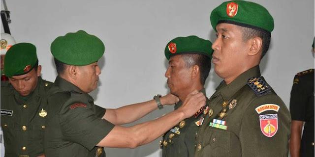 Tampar kepala desa, Dandim Rembang dicopot dari jabatannya