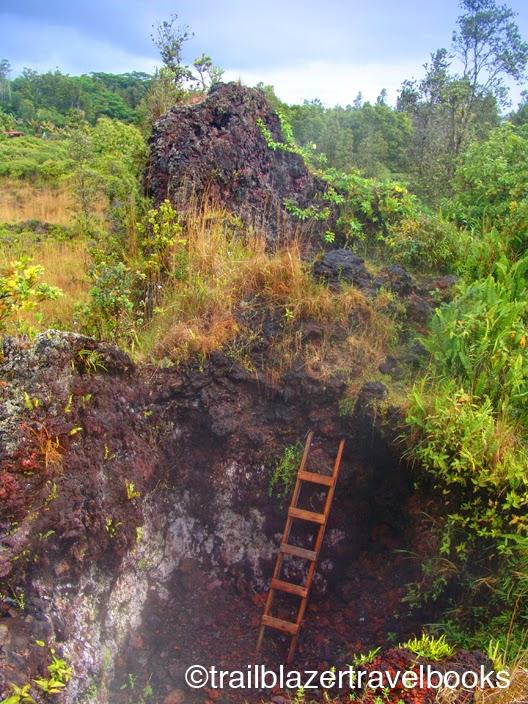 TRAILBLAZER HAWAII: Natural Steam Baths in the Big Island's