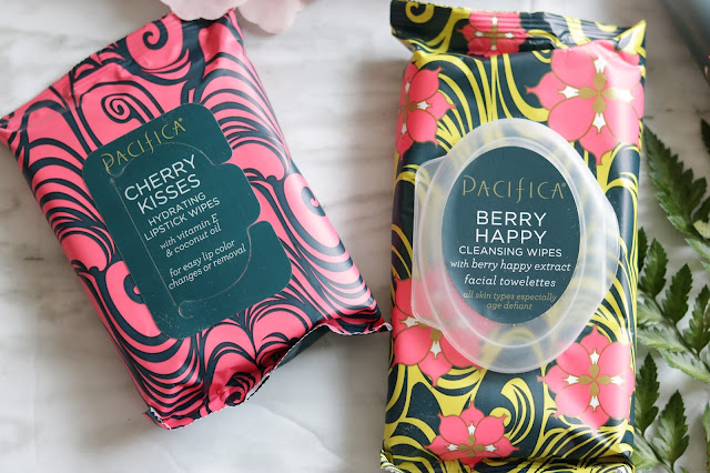pacifica berry happy skincare collection review lipstick wipes
