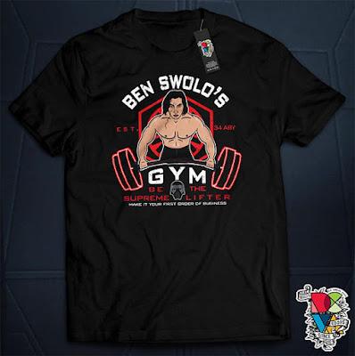 Ben Swolo shirt on Etsy