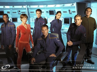 The crew of Enterprise
