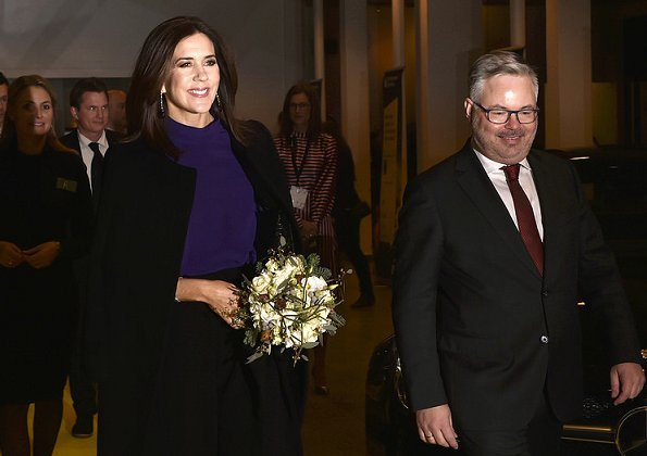 Crown Princess Mary attended award ceremony of EY (Ernst & Young) Entrepreneur Of The Year 2017
