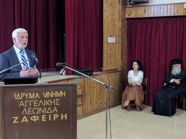 Τατούλης: Τα Ασκητήρια της Κυνουρίας του Παπα-Γιώργη Πετρή ανοίγουν νέους δρόμους έρευνας και καταγραφής της πολιτισμικής μας κληρονομιάς
