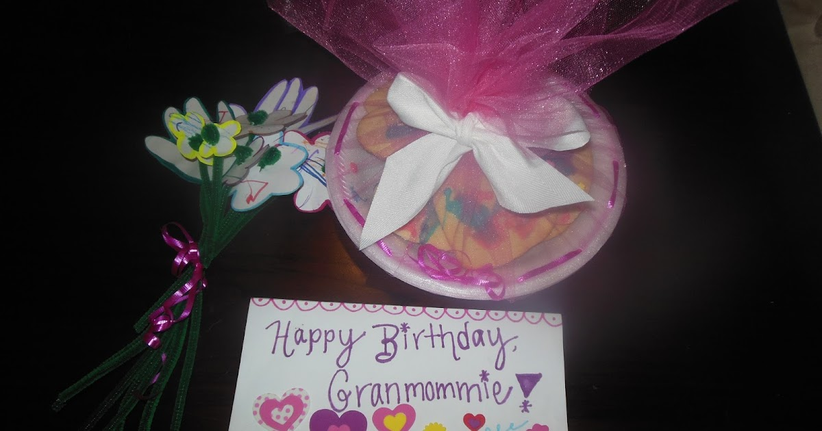 Mommy And Things: Homemade Gifts For Grandparents