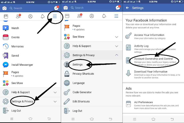 How To Deactivate fb Account Permanently
