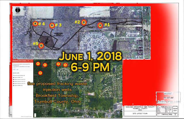 fracking waste injection well meeting Ohio