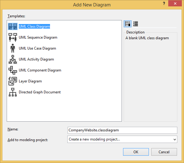 Add UML class diagram