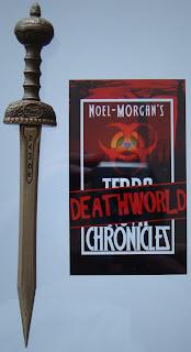 Portada del libro The Deathworld Chronicles, de Tom Noel-Morgan